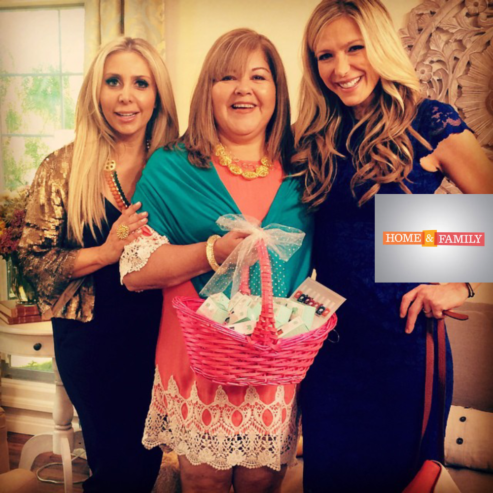 Ragini Mittal Jewelry featured on Home and Family TV Show