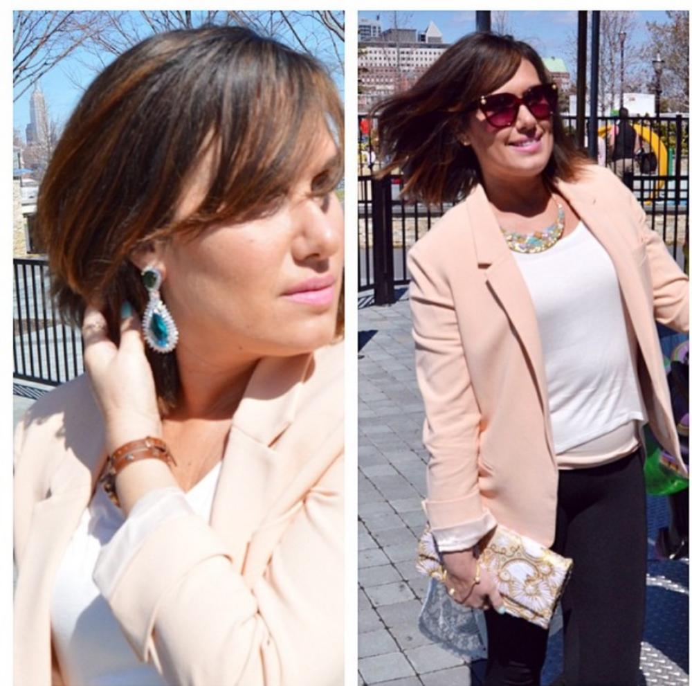 Dana Prigge Talks about Spring Styles with Ragini Mittal Designs on Dailyfashionista.com