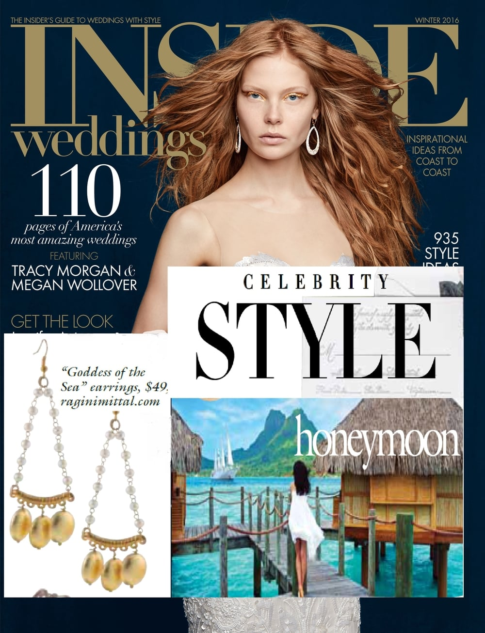 Ragini Mittal jewelry published in Dec issue of Inside Wedding.