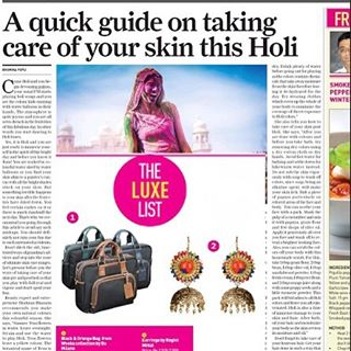 We are so proud to be featured in the LUXE section of the Sunday edition of The Guardian.  #RaginiMittal #RaginiJewels
