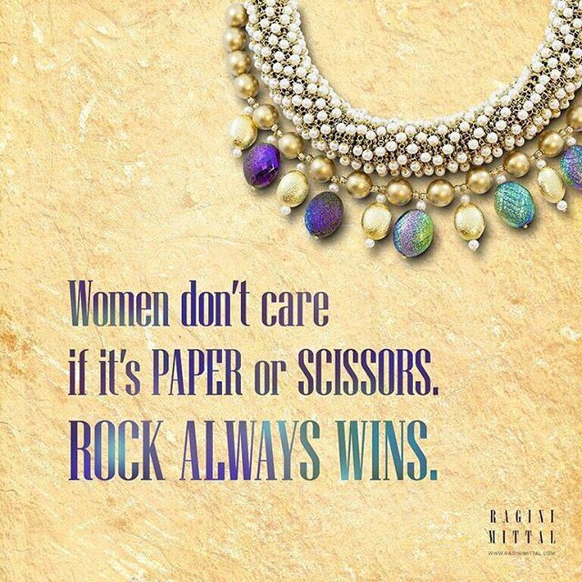 Rock always wins!  #jewerly #jewellery #indianjewelry #indianjewellery #fashionjewelry #fashion #fashionaccessories #accessories #jewelrylover #jewelrylovers #designerjewelry #fashionblogger #jewelryblogger #indian #indianfashion #jewelrylove #jewelrylovers #buyjewelry #outfit #necklace