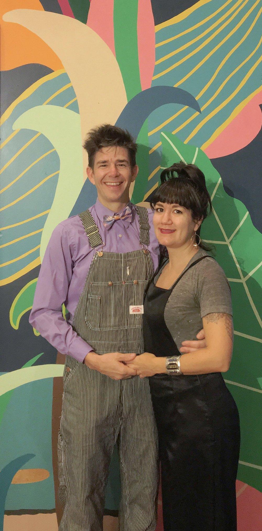 Paul and Amanda