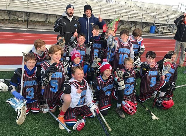 2027 boys won the Mustang Classic and go undefeated this weekend. Nice work boys!!!! #predslax