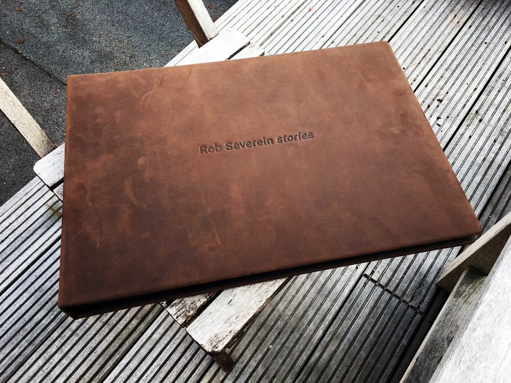 - My new portfolio book: Rob Severein stories