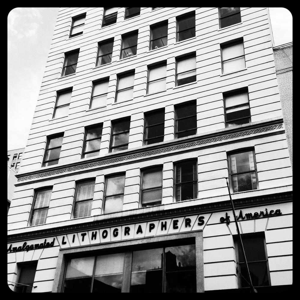 Amalgamated Lithographers  Local One , 113 University Place, NYC