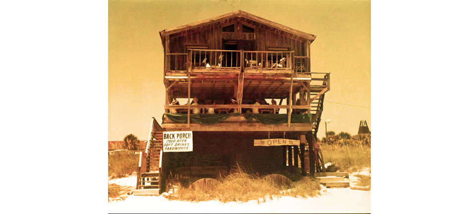 The Back Porch in 1974
