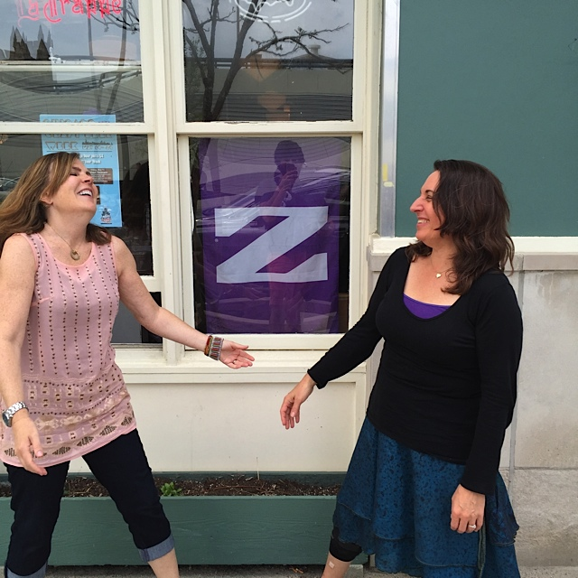 Katy and Pamela are so excited about the launch of Purple Tree Cafe! You too can join in the excitement!