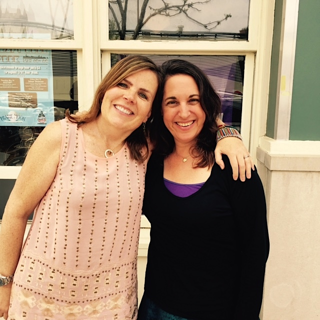 Friends Katy Hansell & Pamela Cohen