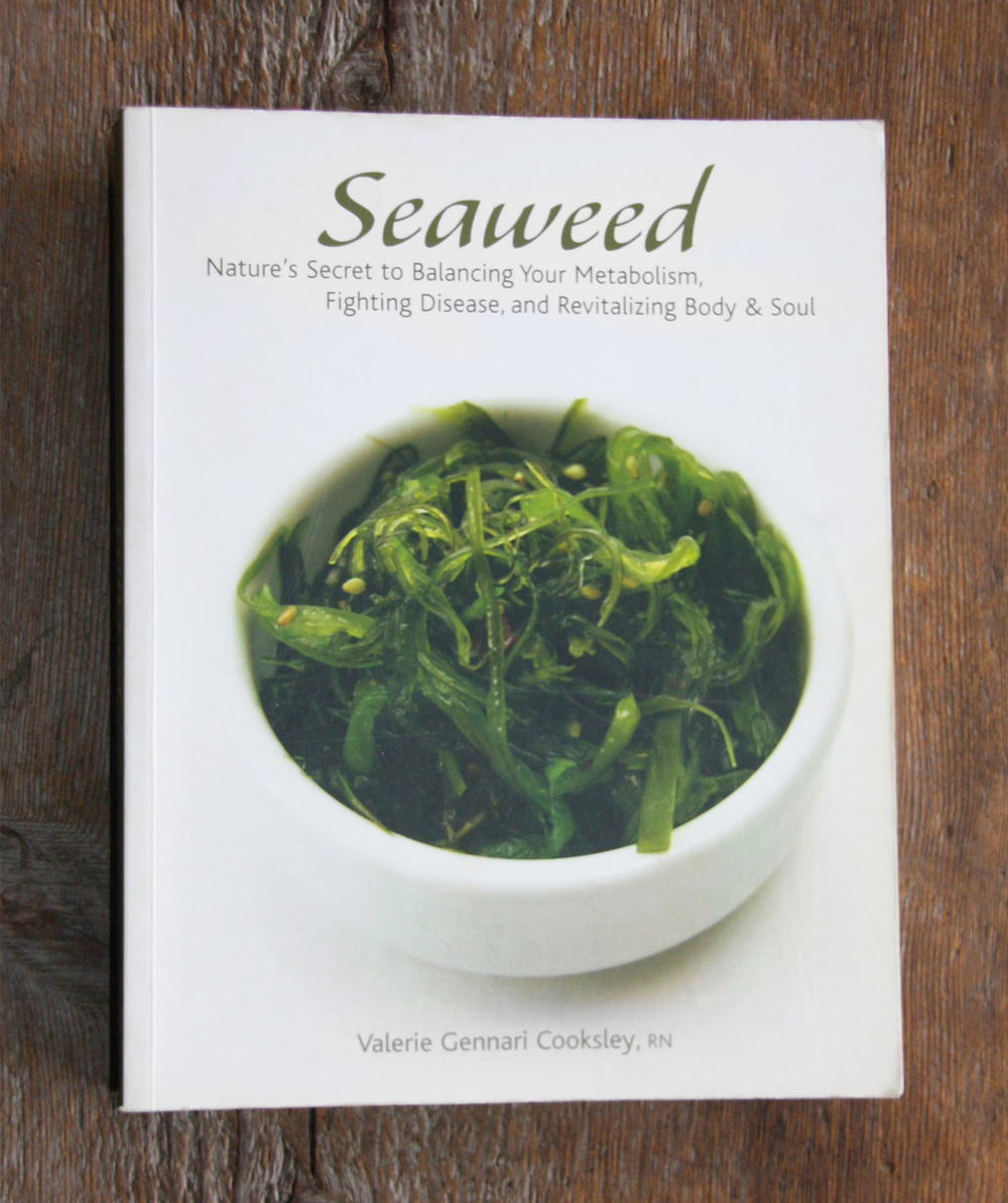 http://www.abebooks.com/9781584795384/Seaweed-Natures-Secret-Balancing-Metabolism-1584795387/plp