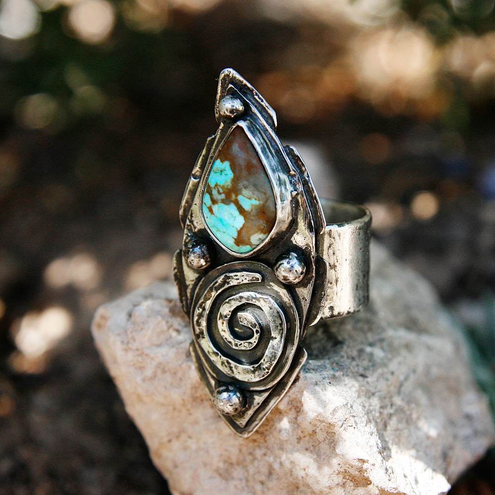 Spirit Journey Talisman with Turquoise