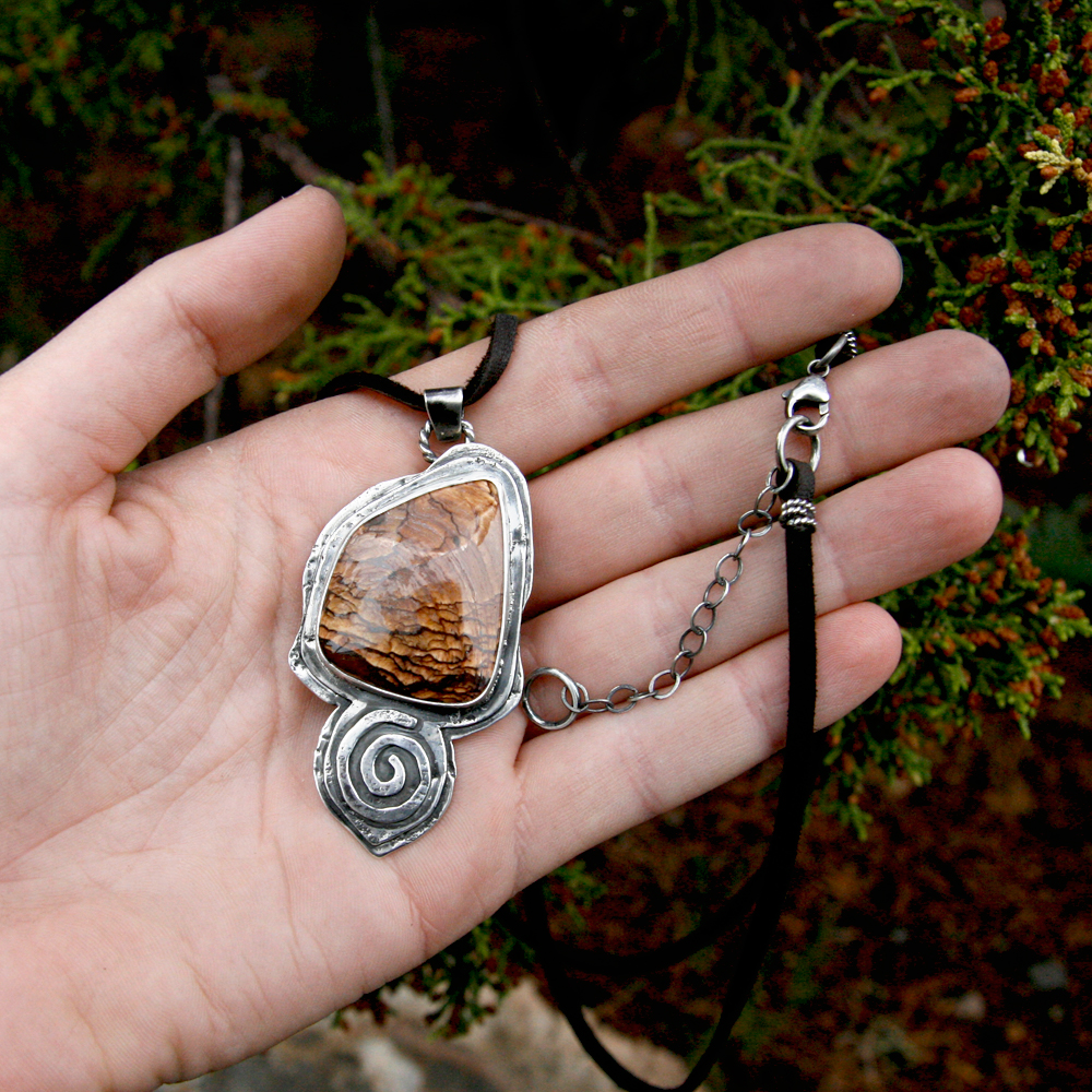 Spirit Journey Talisman with Deschutes Jasper