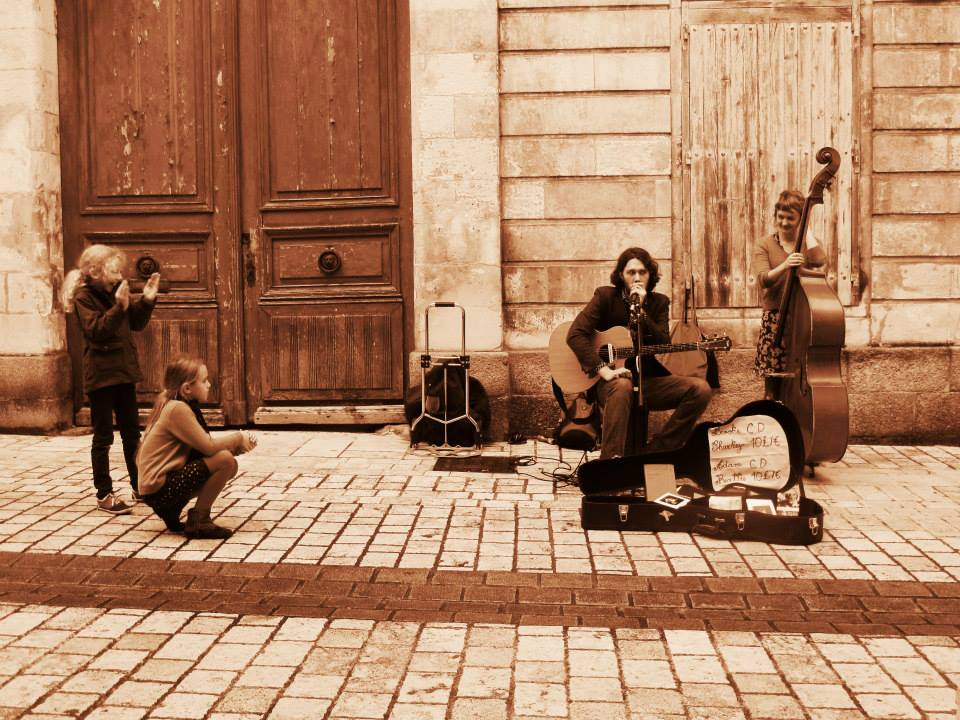LA ROCHELLE, FRANCE, 2013 | PHOTO BY SARAH HEATH  with Brooke Sharkey on double bass