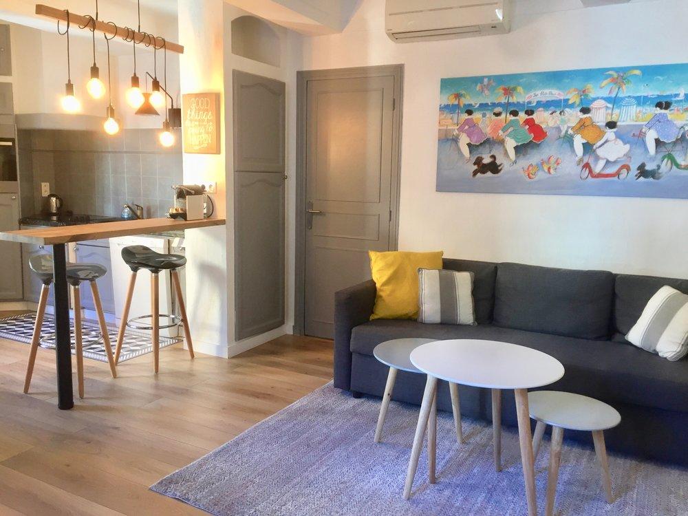 Appartement dans Vieil Antibes