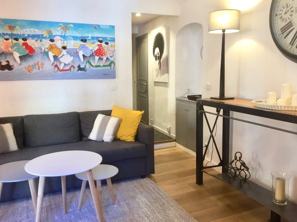 appartement Vieil Antibes - Tableau Michel Bolet