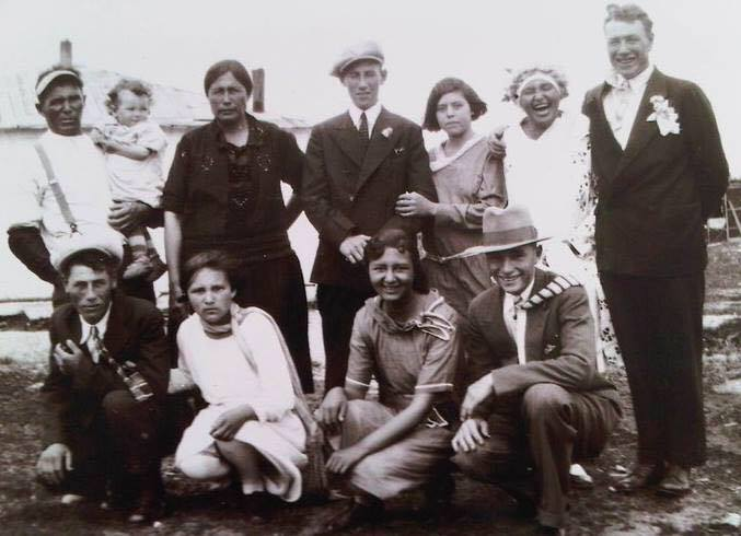 GRANDFATHER OVIDE HUDSON, BERENS RIVER, 1930