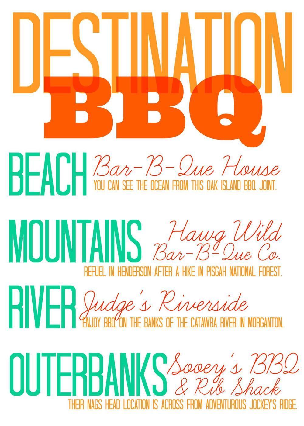 BBQ adventures