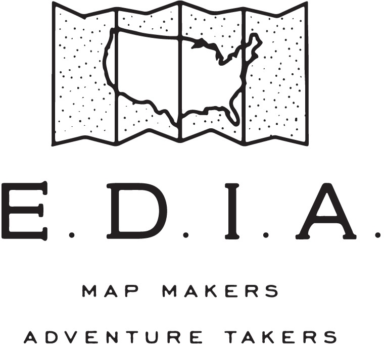 EDIA Maps . NC + SC food & adventure maps