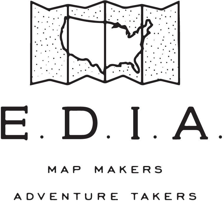 EDIA Maps . NC + SC food & adventure maps