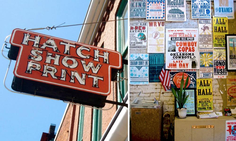 Hatch Show Print | Nashville, TN