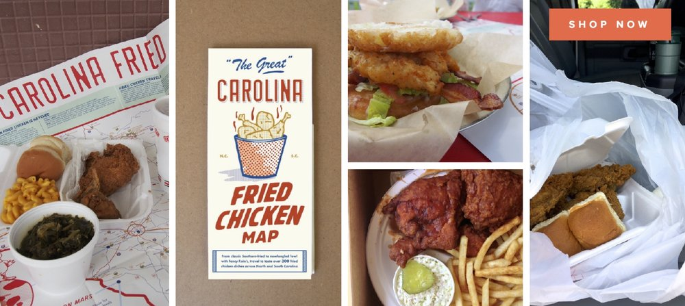 Carolina Fried Chicken Map >> ediamaps.com