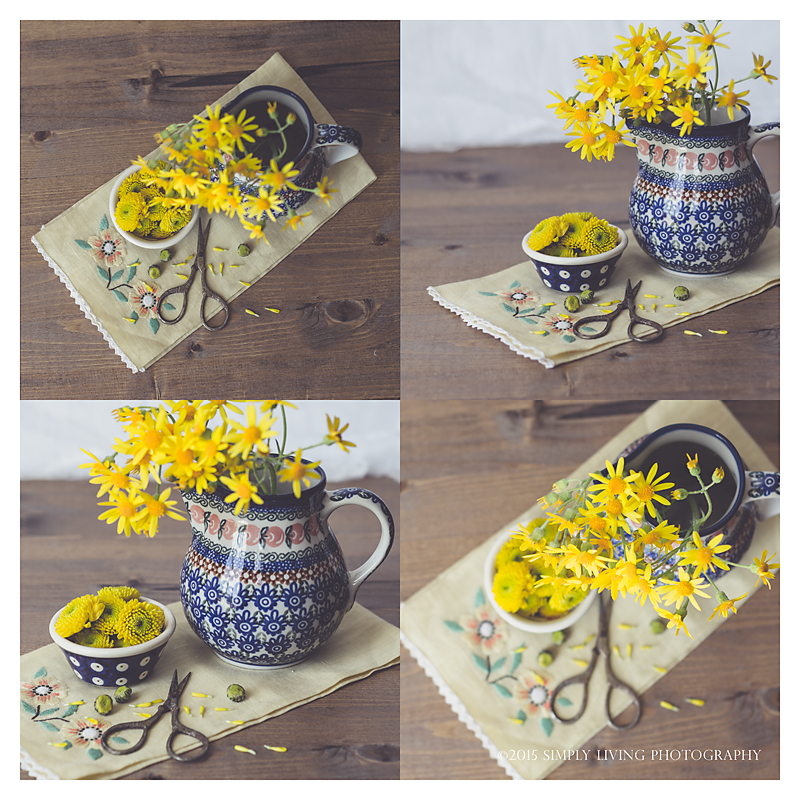 Yellow Pottery By Lisa Kerner ©Simply living Photography