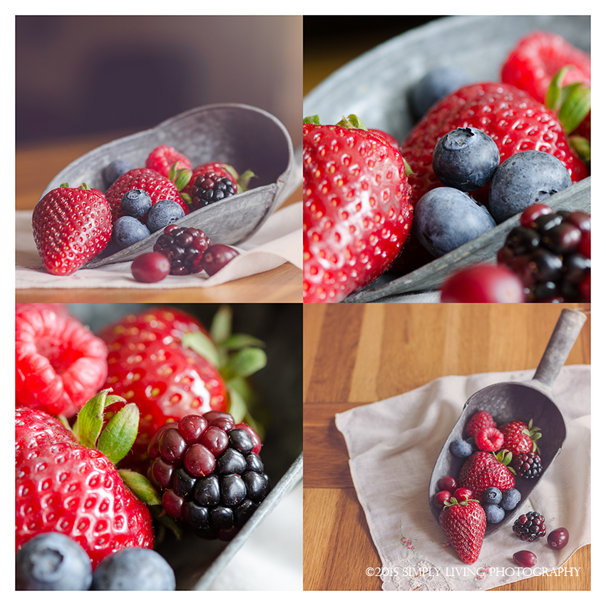 Berry Collage by Lisa Kerner ©Simply Living Photography