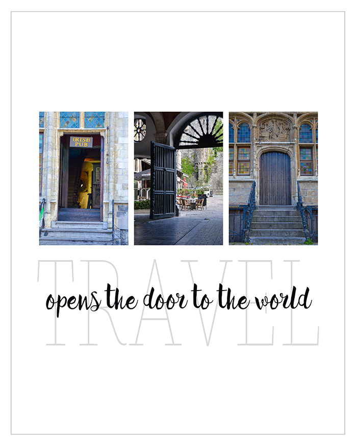 Travel Opens the Door to the World | Lisa Kerner | Simply Living Photography