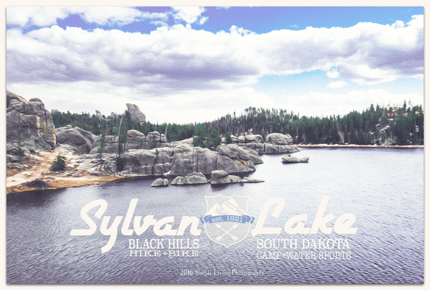 A Graphic Design Project | Sylvan Lake | Life Thru the Lens | Lisa Kerner | Simply Living Photography