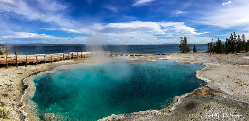 Yellowstone in Panorama | Lisa Kerner | Simply Living Photography | Life Thru the Lens Link Up