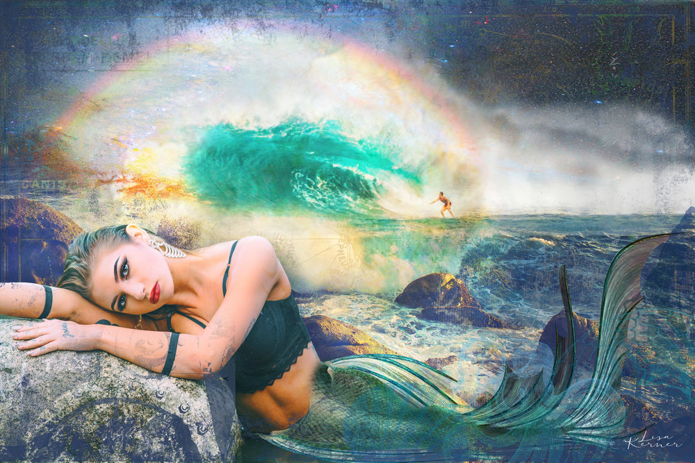 Mermaid Dreams by Lisa Kerner | ©LisaKerner