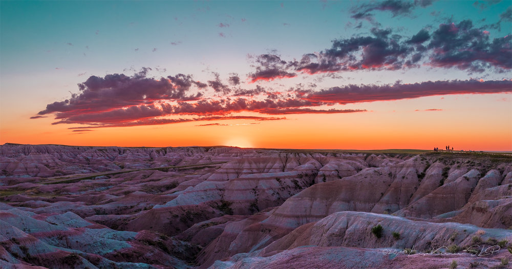 Badlands by Dusk | Lisa Kerner | Simply Living Photography