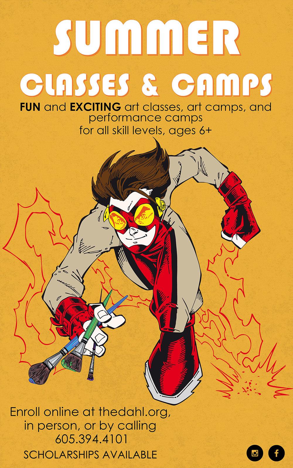 Lisa Kerner | Promotional Poster | Dahl Arts Center