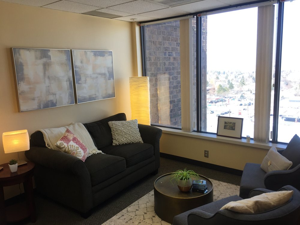 Inside Grace Edstrom Private Counseling Practice in Denver, CO