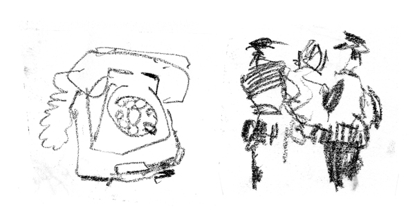 phone+2policemen