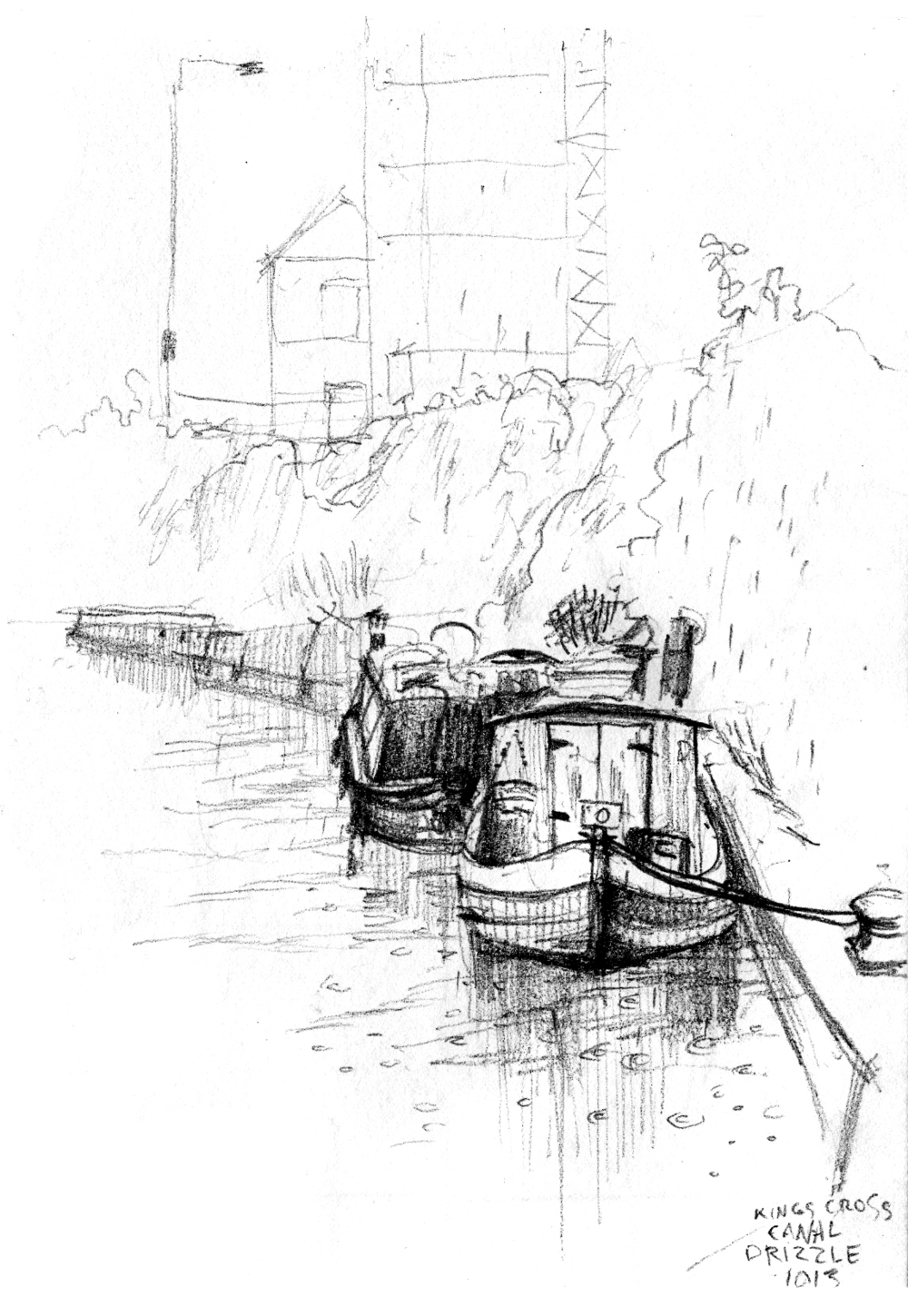 Boats on Regents Canal