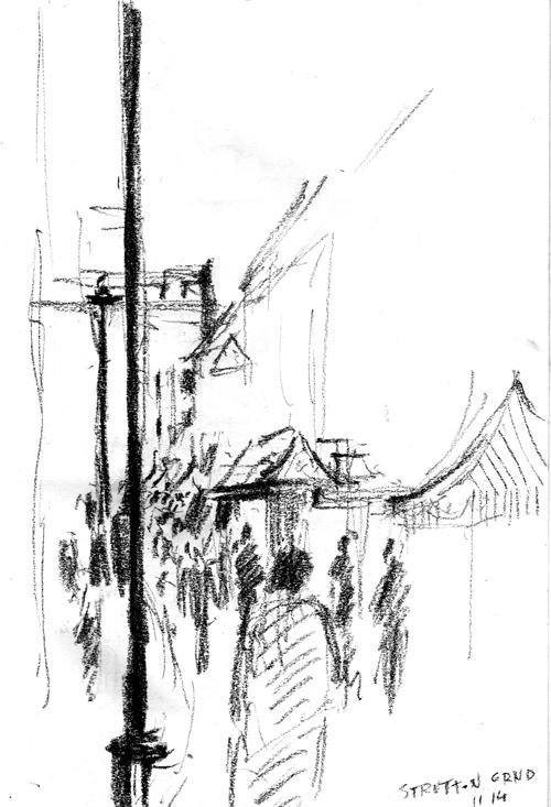 Strutton Ground street market, Westminster, 11.14