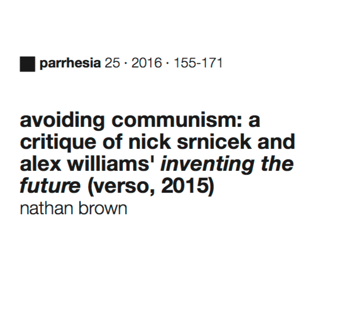 Avoiding Communism