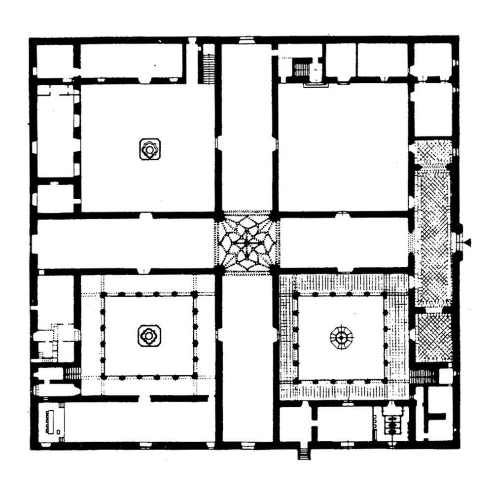 Hospital in Grenada, design 1522
