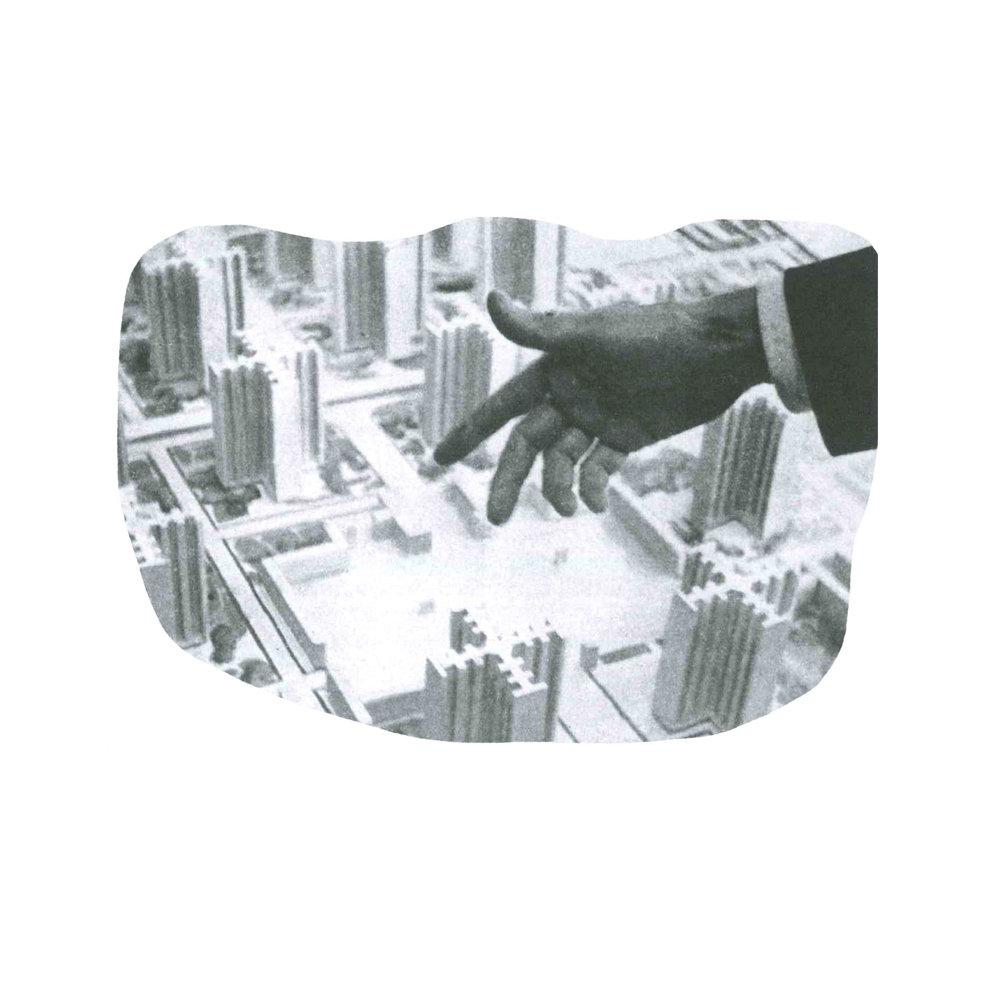 Le Corbusier's proposed Ville Radieuse