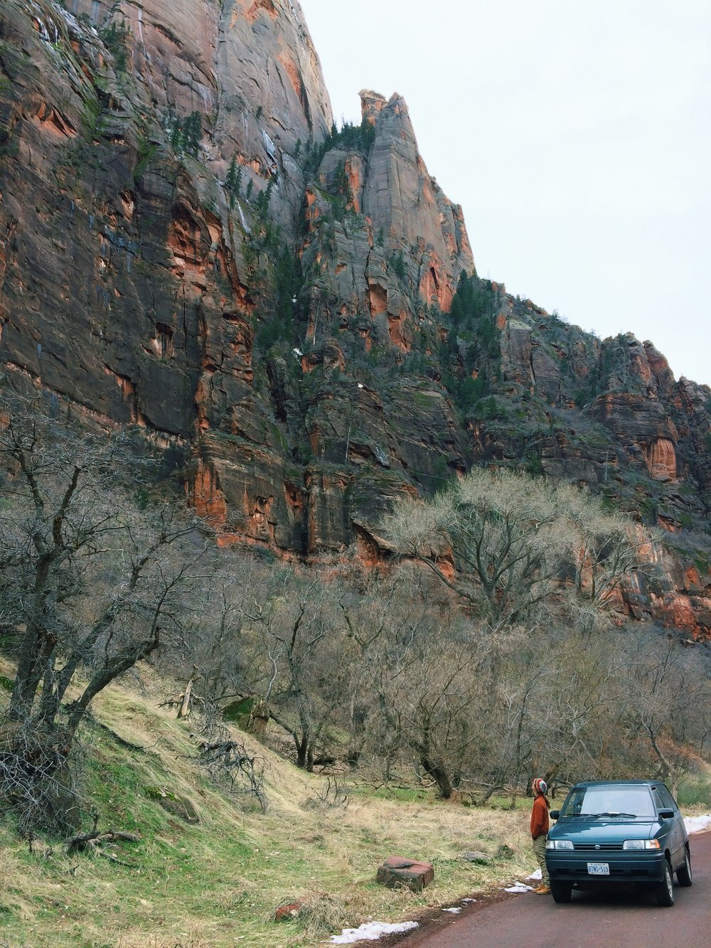 Scenic Drive Zion Canyon