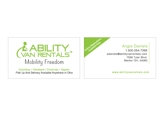 Business cards meredith stuebbe ability van rental colourmoves