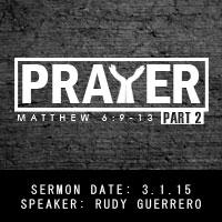 Prayer pt.2