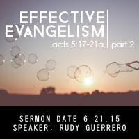 Effective Evangelism Pt.2