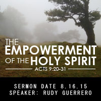 Empowerment of the Holy Spirit