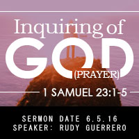 Inquiring of God (Prayer)