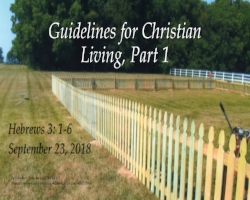 Guidelines for Christian Living, Picket fence.jpg