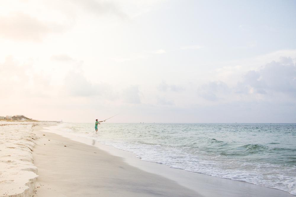 Beach cast.
