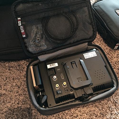 Video Monitor Kit in Medium Bag