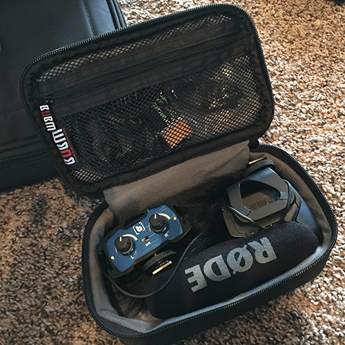 Audio Kit in Small Bag