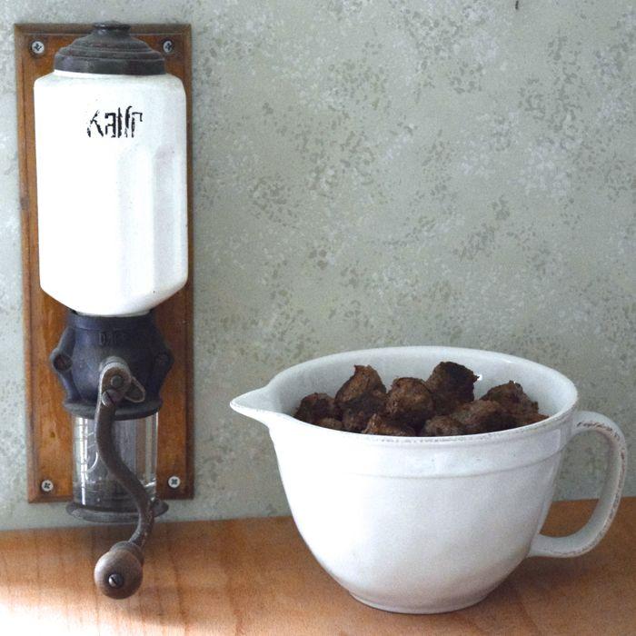 espresso-köttbullar